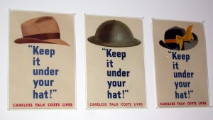 Keep it under your hat poster